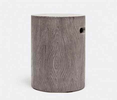 Bernt Stool/Table in Dark Grey - belleandjune.com