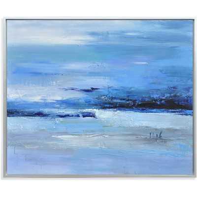 Calmness of Blue Painting Print - 40x48 - Wayfair
