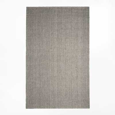 Jute Boucle Rug - Clay - 8' x 10' - West Elm