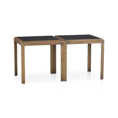 Set of 2 Pascal Bunching Tables - Crate and Barrel