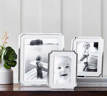 Abigail Silver-Plated Frames - Pottery Barn