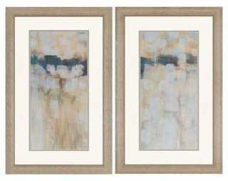 """Carbon Neutral - 38"""" x 24"""" Framed Art - Set of 2 - One Kings Lane"""