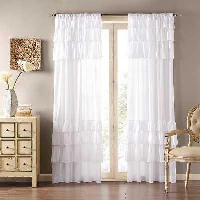 Ariana Anna Oversized Ruffle Curtain Panel - Target