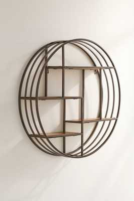 Wooden Circle Wall Shelf - Urban Outfitters