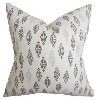 Boteh Cotton Pillow - One Kings Lane