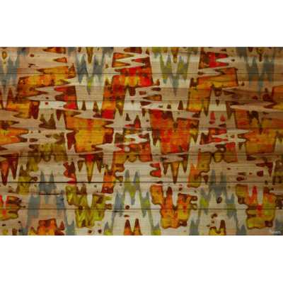 "Norwegian Wood Painting Print-40""x60""-Unframed - AllModern"