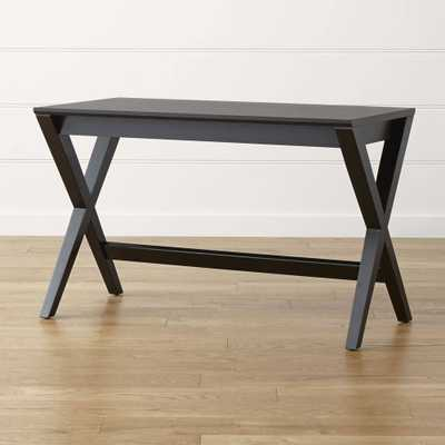 "Spotlight Ebony 48"" Desk - Domino"