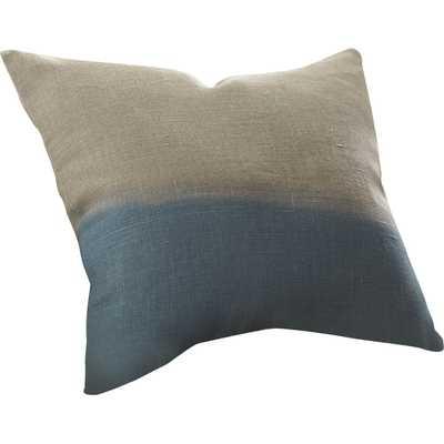 "Carson Linen Pillow Cover- 18"" x 18""- Blue- Insert Sold Separately - Wayfair"