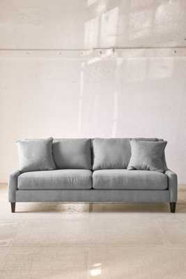 Collins Microfiber Sofa, Grey - Urban Outfitters