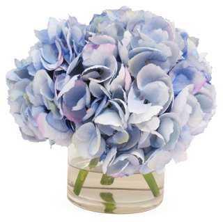 """10"""" Hydrangea in Vase - One Kings Lane"""