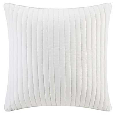 Ink+Ivy Camila Quilted Cotton Euro Sham - Overstock