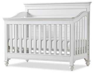 Amias Convertible Crib, White - One Kings Lane