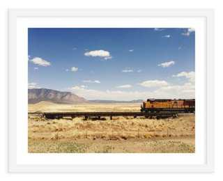"Kevin Russ, Train - 40"" x 32"" - Framed - One Kings Lane"