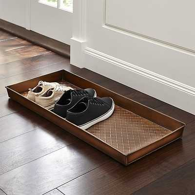 Copper Boot Tray - Crate and Barrel