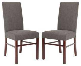 Kiki Side Chair, Pair - One Kings Lane