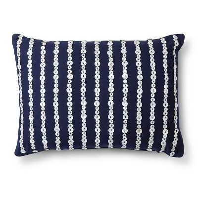 "Thresholdâ""¢ Embellished Button Decorative Pillow - Target"