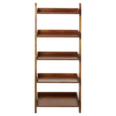 "55"" Leaning Bookcase - Wayfair"
