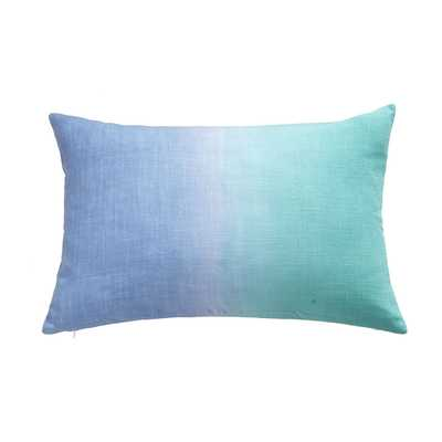 "OMBRÉ PILLOW COVER - STARLING-  24""w x 16""h- Insert Sold Separately - Wisteria"