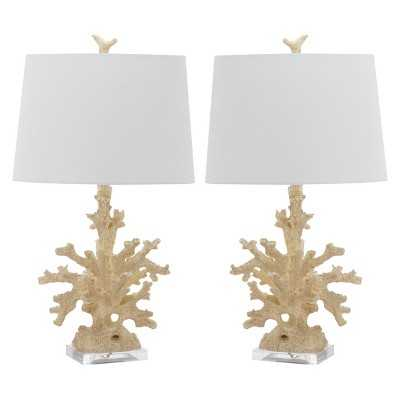 Safavieh Porte Table Lamp (Set of 2) - Target