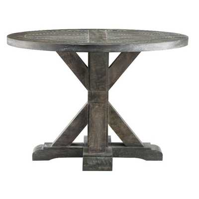 Bridgeport Round End Table - Overstock