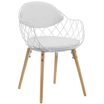 Basket Dining Armchair - Domino