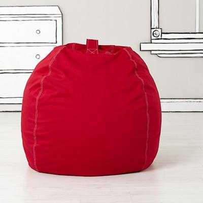 "40"" Bean Bag Chair (New Red) (includes Cover and Insert) - Land of Nod"