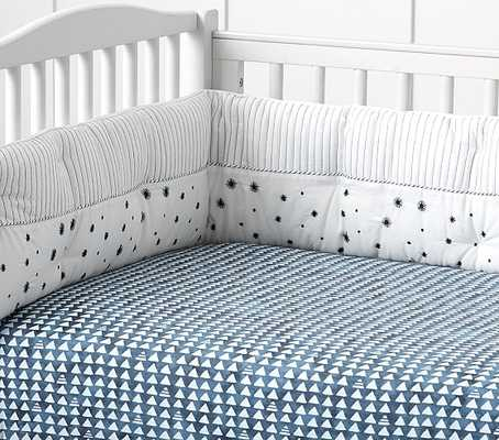 Organic Lawson Crib Fitted Sheet - Pottery Barn Kids