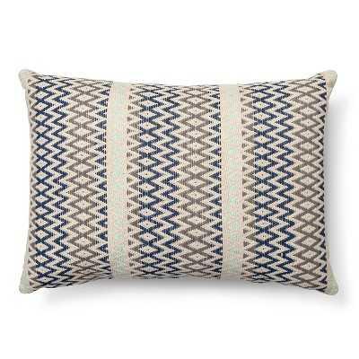 Woven Texture Decorative Pillow Oblong Mint Ash - 20x14 - Polyester fill - Target