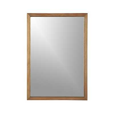 Blake Grey Wash Rectangular Wall Mirror - Crate and Barrel