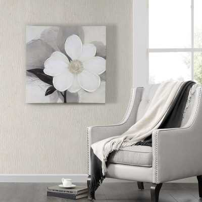 Midday bloom Painting Print on Wrapped Canvas - Wayfair