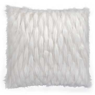 "Corseca Pillow - 24x24""-With Insert-Ivory - Z Gallerie"
