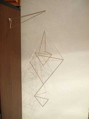 HIMMELI no. 20 | geometric hanging mobile - Etsy