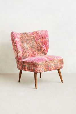 Dhurrie Occasional Chair - Anthropologie