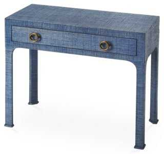 Nina Raffia Console Table - One Kings Lane