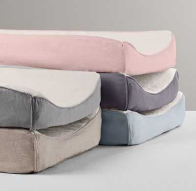 Washed organic linen changing pad cover - RH