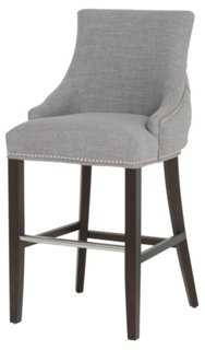 Avenue Nailhead Stool - One Kings Lane