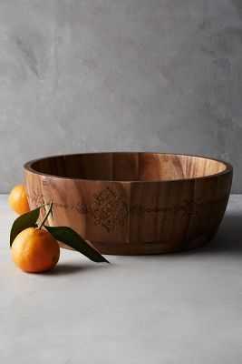 Acacia Serving Bowl - Anthropologie