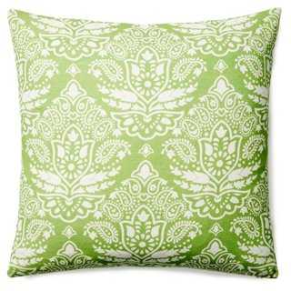 Capitola Cotton Pillow - One Kings Lane
