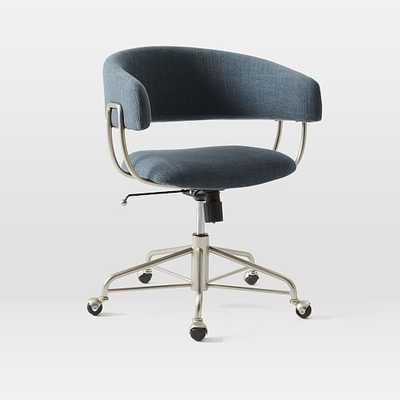 Halifax Upholstered Office Chair - West Elm