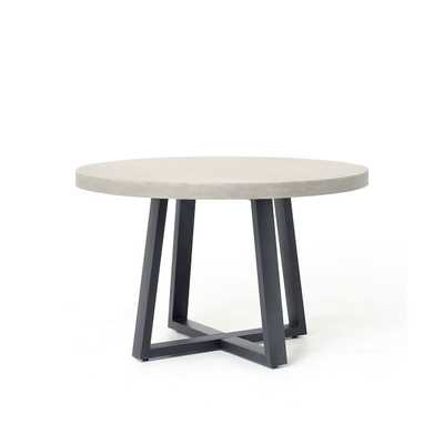 Slab Round Dining Table - West Elm