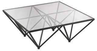 Kimmi Coffee Table, Charcoal - One Kings Lane