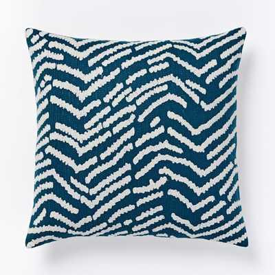 Tiger Crewel Pillow Cover - West Elm
