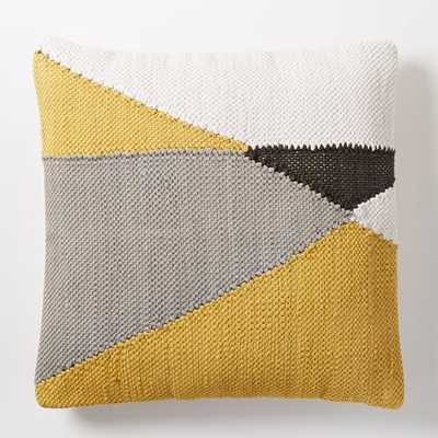Chindi Colorblock Pillow Cover - 20x20 - Insert Sold Separately - West Elm
