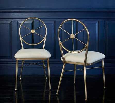 Ken Fulk Admiral Side Chair - Pottery Barn
