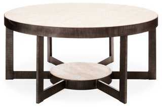 "Mill Valley 44"" Cocktail Table, Gray - One Kings Lane"