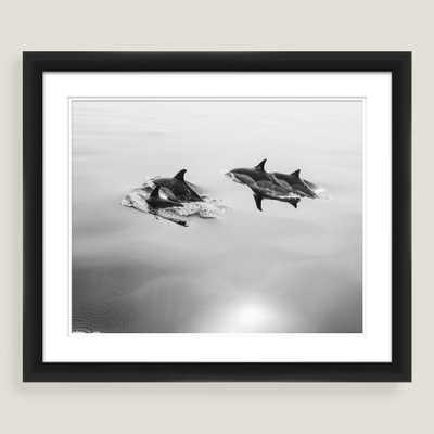 Family Swim Framed Shadowbox Wall Art 23x19 - World Market/Cost Plus