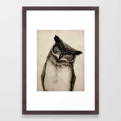 Owl Sketch - Society6