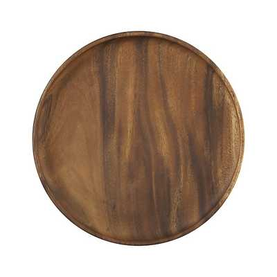 "Tondo 12"" Round Platter - Crate and Barrel"