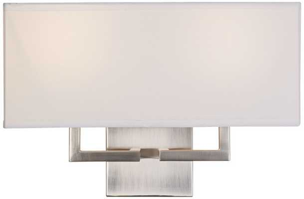 George Kovacs Rectangle 2-Light Wall Sconce - Lamps Plus