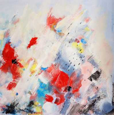 "Abstract Painting, Giclee Print, 36"" x 36"" - Canvas - Etsy"